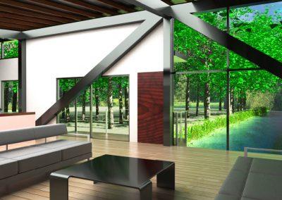 Bridge House interior