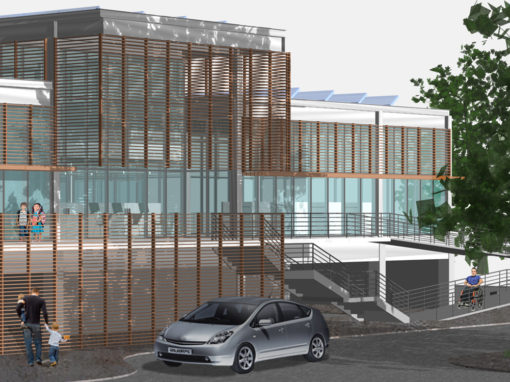 City of Glendale Parking Lot  Branch Library (Prototype)
