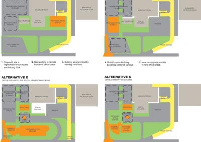 Site plan alternatives