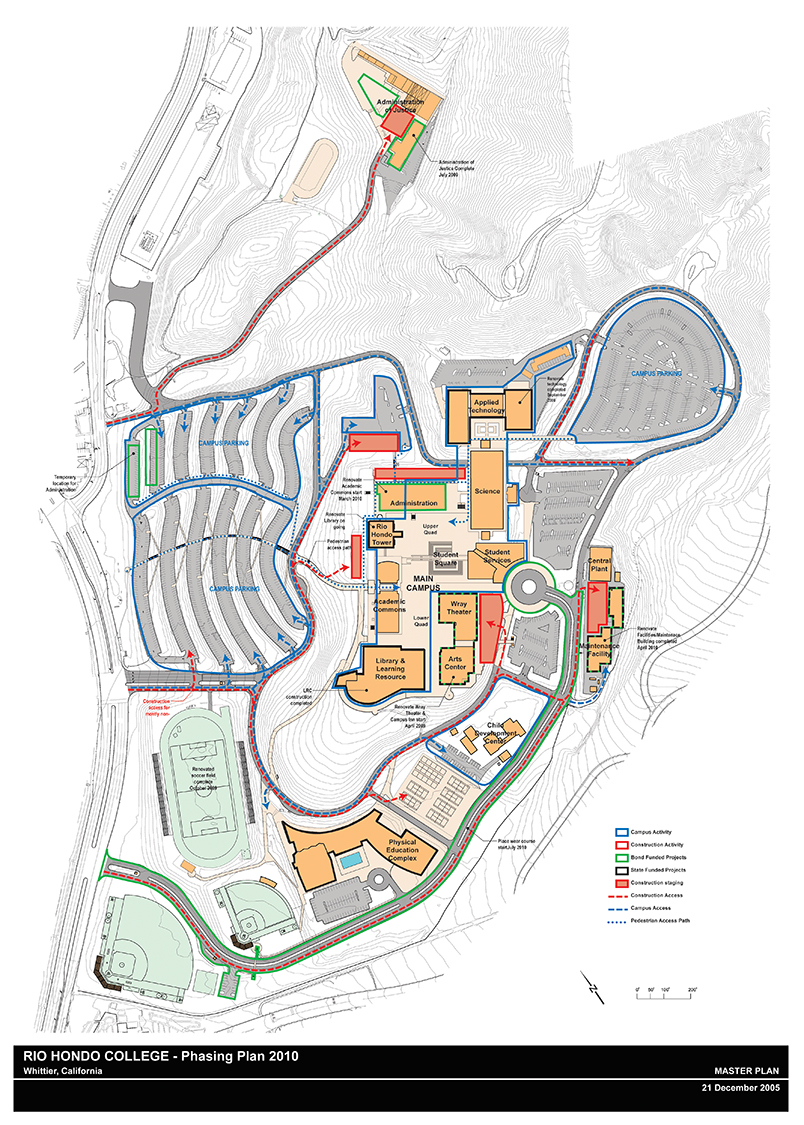 Rio Hondo College Facilities Master Plan West Edge Architects