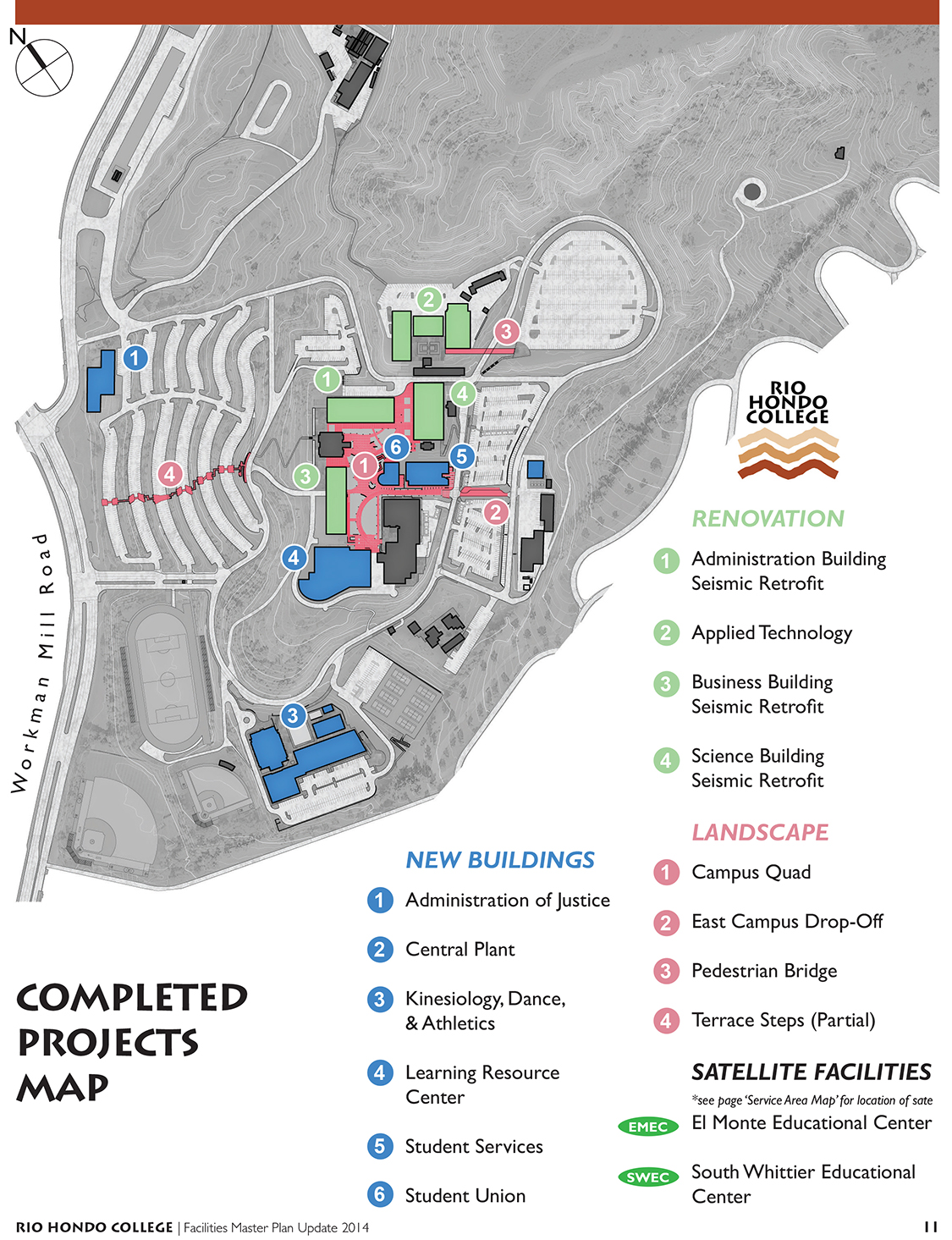 Rio Hondo College Facilities Master Plan Update 2014