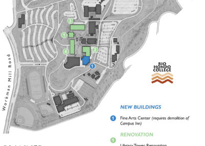 Rio Hondo College planned projects