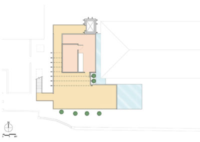 Reception Terrace Plan