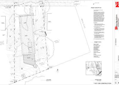 Site Plan/Roof Plan drawing