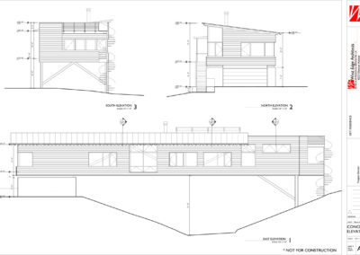 Building Exterior Elevation drawings