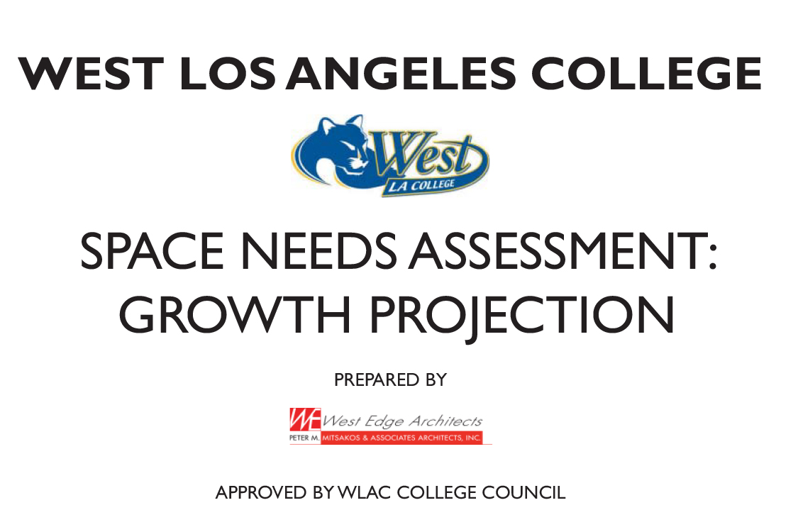 WLAC Space Needs Assessment: Growth Projection