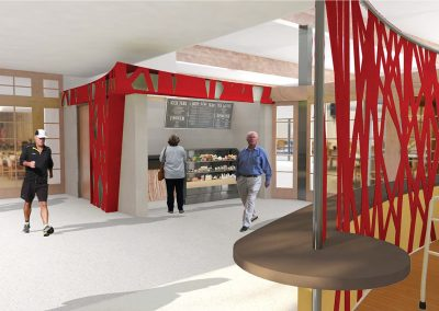 CYBER CAFE RENDERING