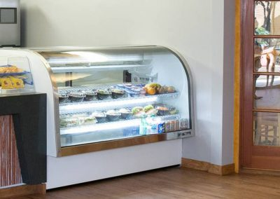 Deli and bakery counter